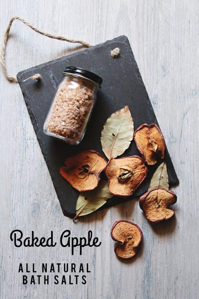 Baked Apple Bath Salts