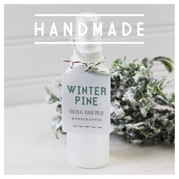 3 Ingredient Winter Pine Room Spray