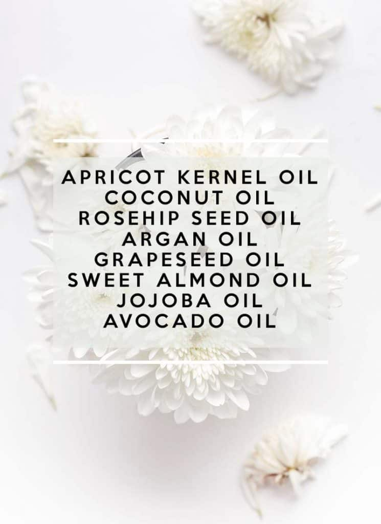 natural carrier oils