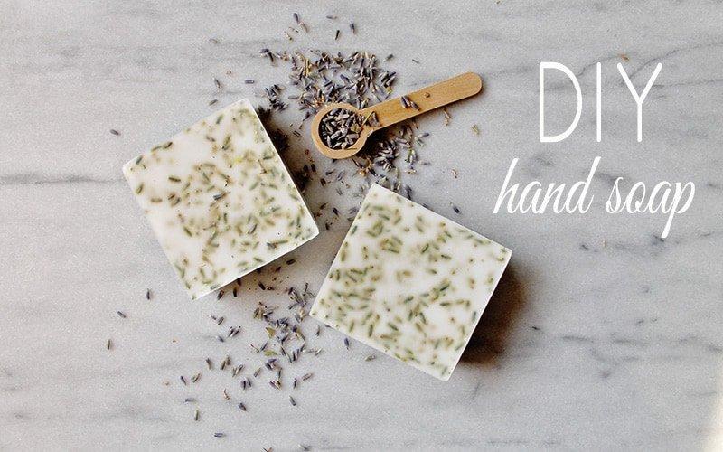 How to Make DIY Lavender Goat Milk Hand Soap