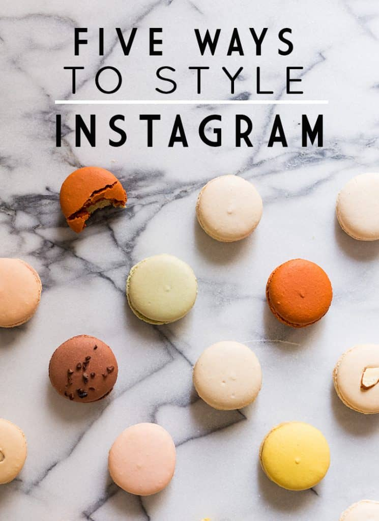5 Ways to Style Your Instagram