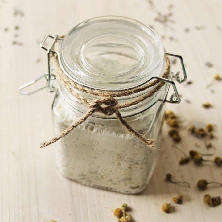 Soothing Chamomile Lavender Milk Bath