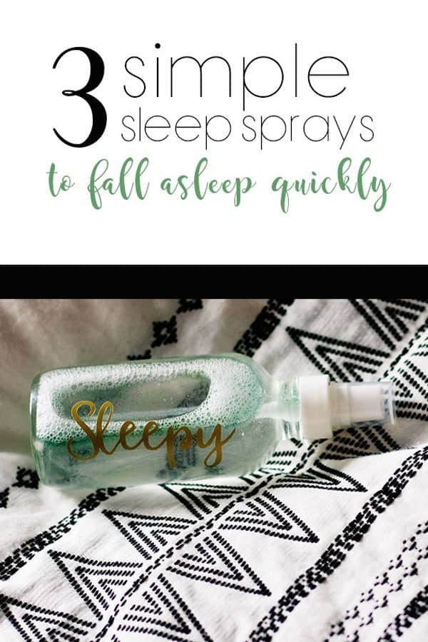 Create a DIY sleep spray to chill, relax, and ultimately sleep better with soothing witch hazel and essential oils for sleep as an easy natural sleep aid.