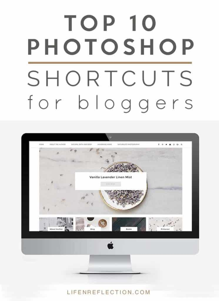 Top 10 Photoshop Shortcuts for Bloggers