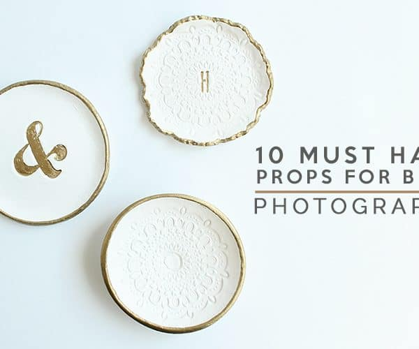 10 Must Have Blog Photography Props