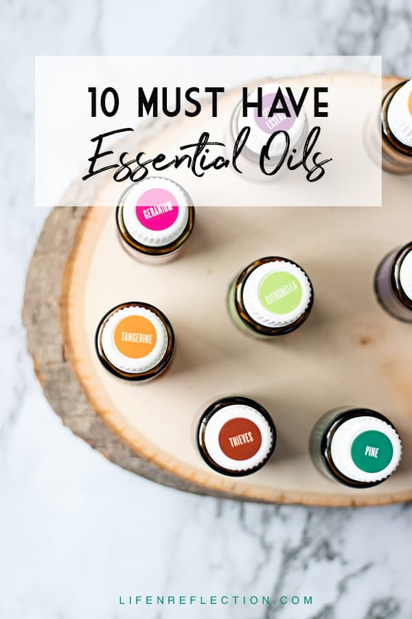 Are you new to essential oils or discovering more to expand your use of essential oils? This resource list of my ten must-have essential oils will guide you on your way.