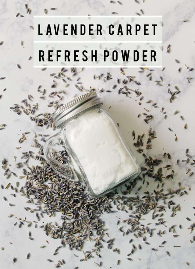 Odor Eliminating Carpet Refresh Powder
