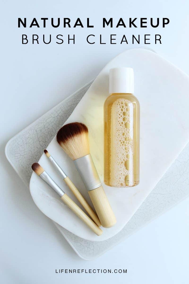 No Fuss DIY Natural Makeup Brush Cleaner