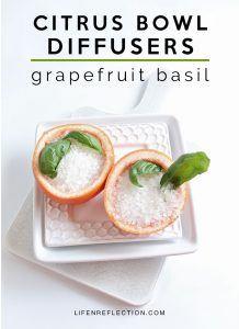 Citrus Bowl Herbal Diffusers