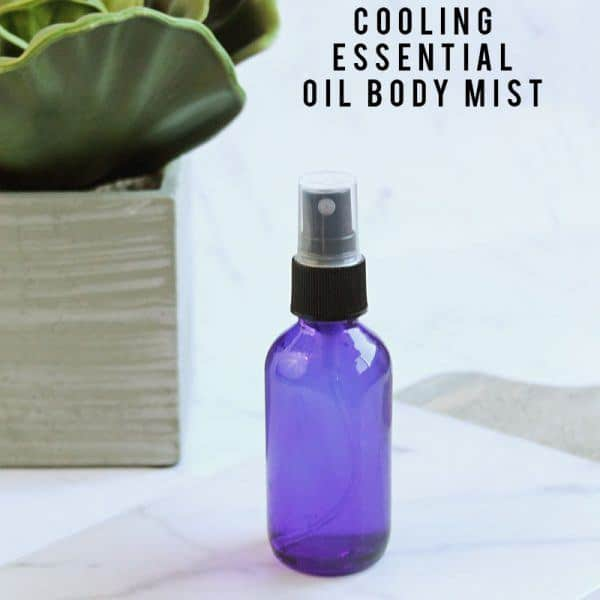 Cooling Essential Oil Body Mist