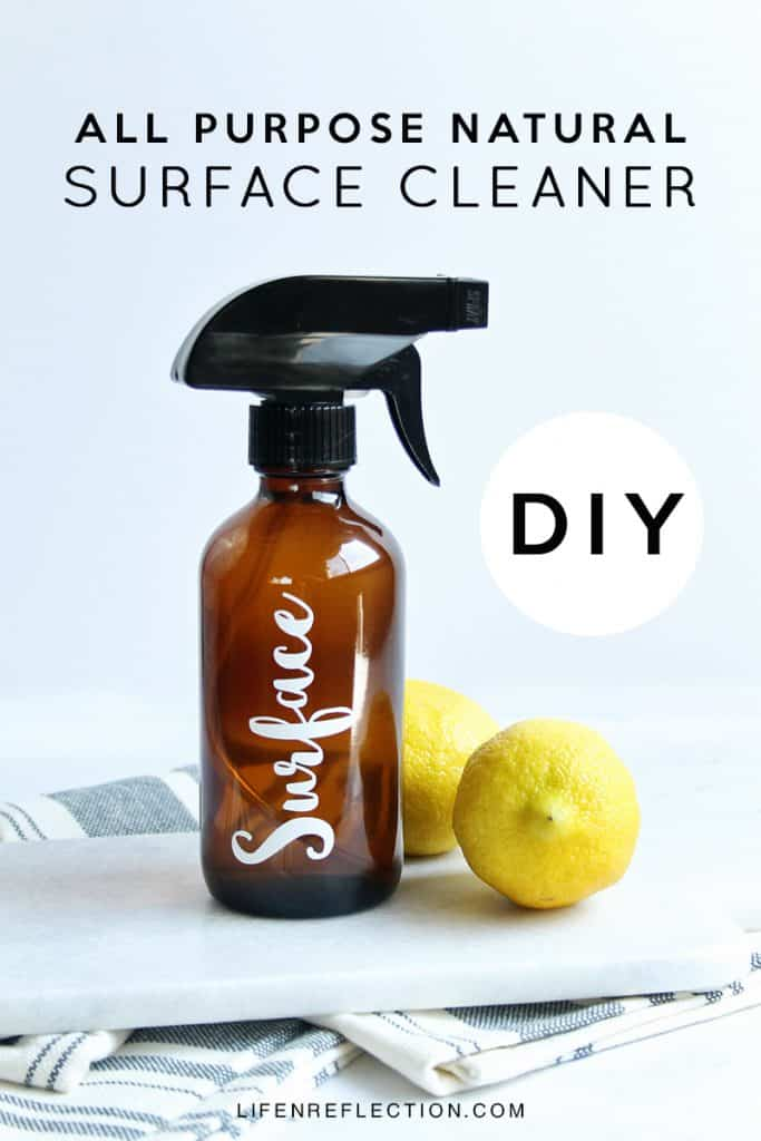 DIY All Purpose Natural Surface Cleaner