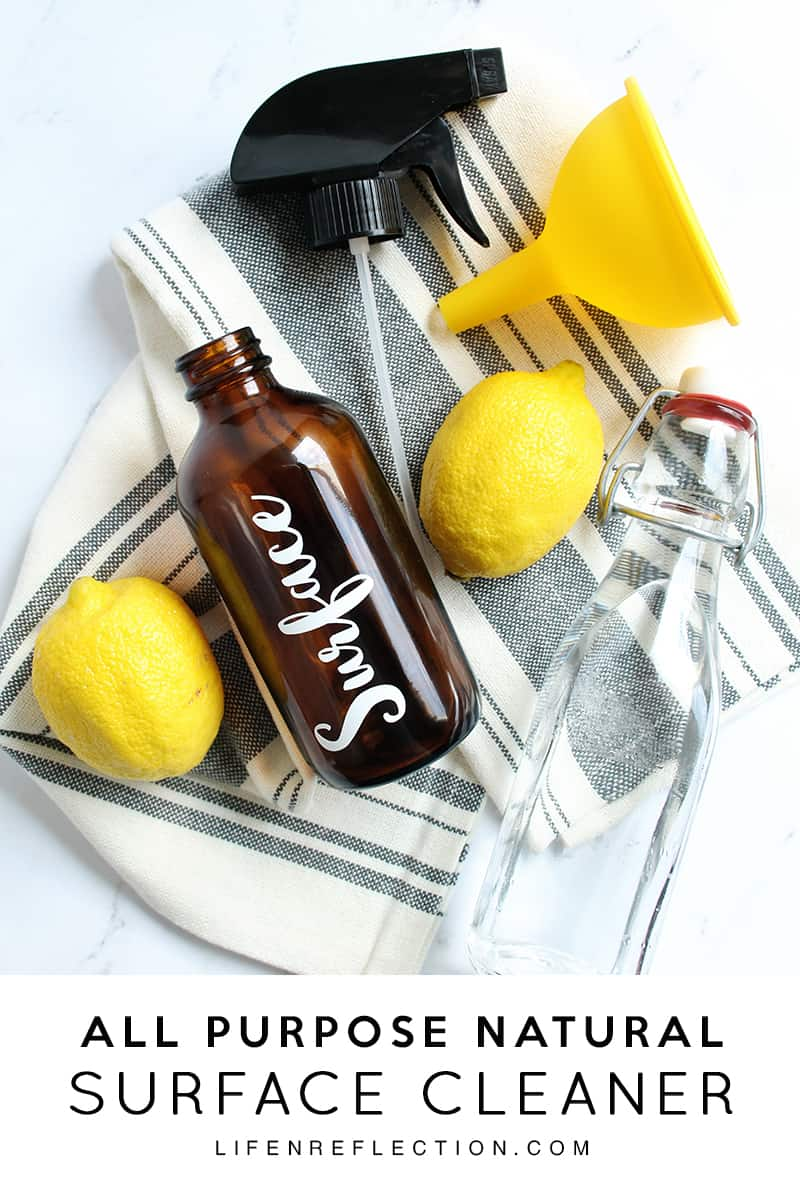 Natural Lemon Oil Cleaner