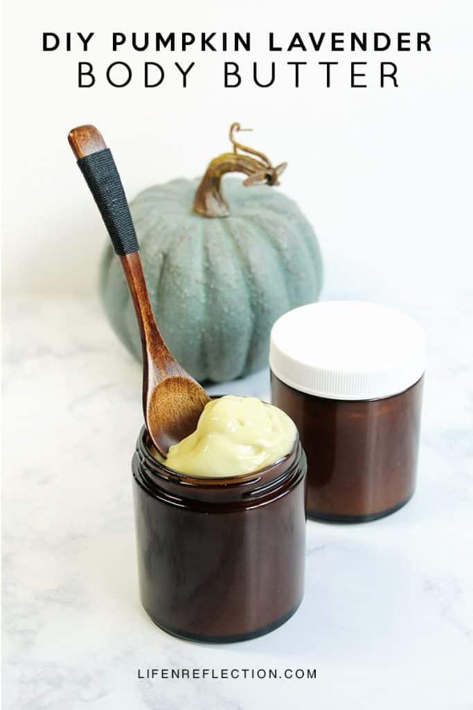 How to Make Moisturizing DIY Pumpkin Lavender Body Butter