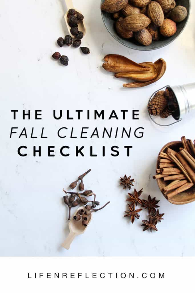 The Ultimate Fall Cleaning Checklist