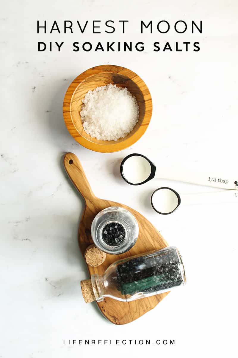 How to make Harvest Moon DIY Soaking Salts with Activated Charcoal