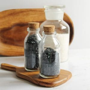 Harvest Moon DIY Soaking Salts with Activated Charcoal Homemade Recipe