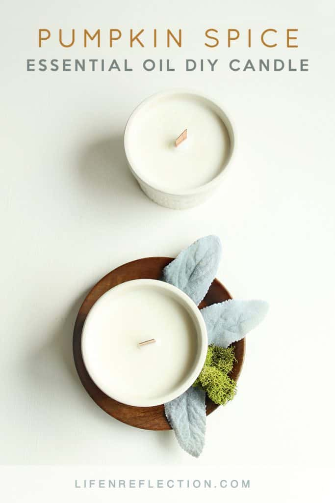 Essential Oil Pumpkin Spice Candles Life N Reflection