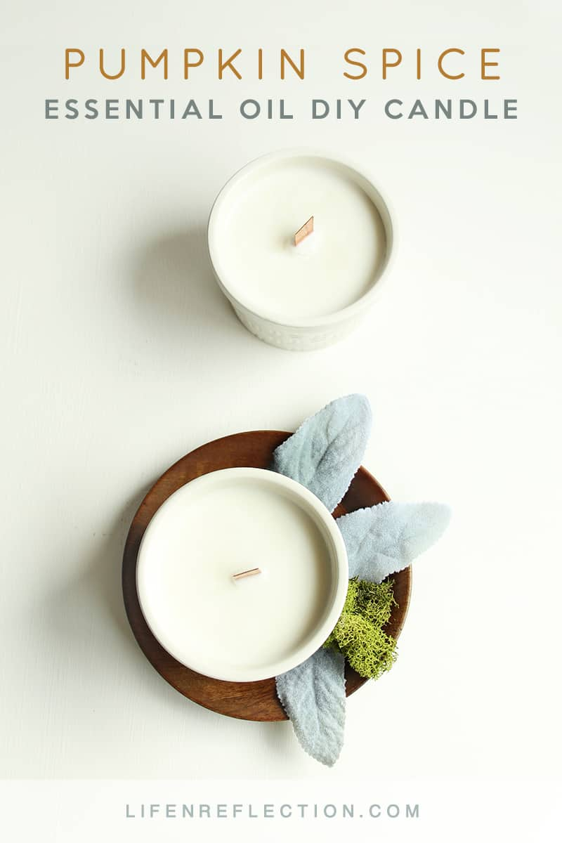 Essential oil pumpkin spice candles life n reflection for How to make pumpkin spice essential oil