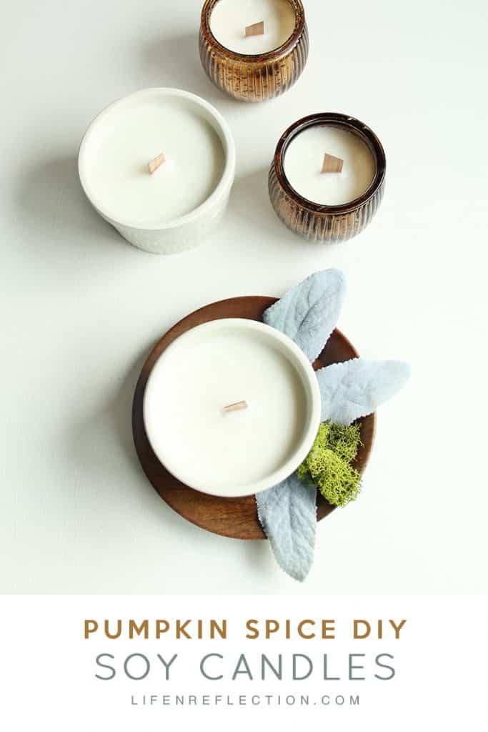 Fall Favorite Essential Oil Pumpkin Spice Candles Homemade Recipe