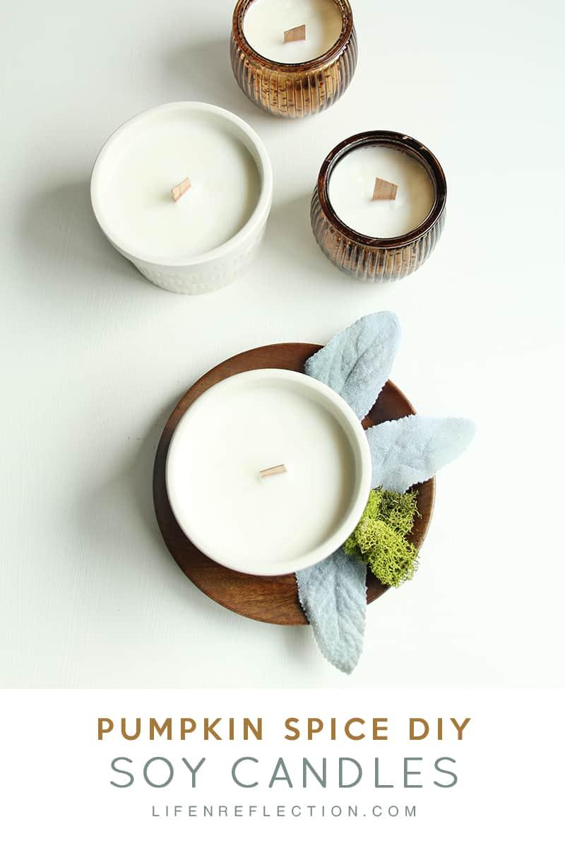 Fall Favorite Essential Oil Pumpkin Spice Candles