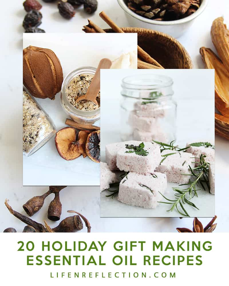Holiday Essential Oil Gift Making