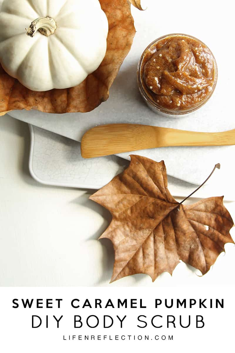 I think I've died and gone to heaven with Sweet Caramel Pumpkin DIY Hand Scrub recipe...