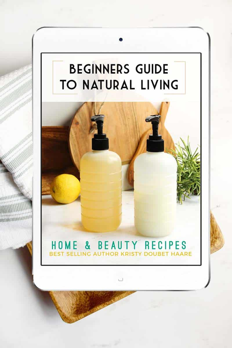 Beginners Guide to Natural Living Book
