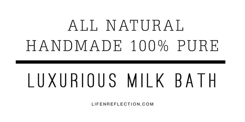 milk bath apothecary label printable