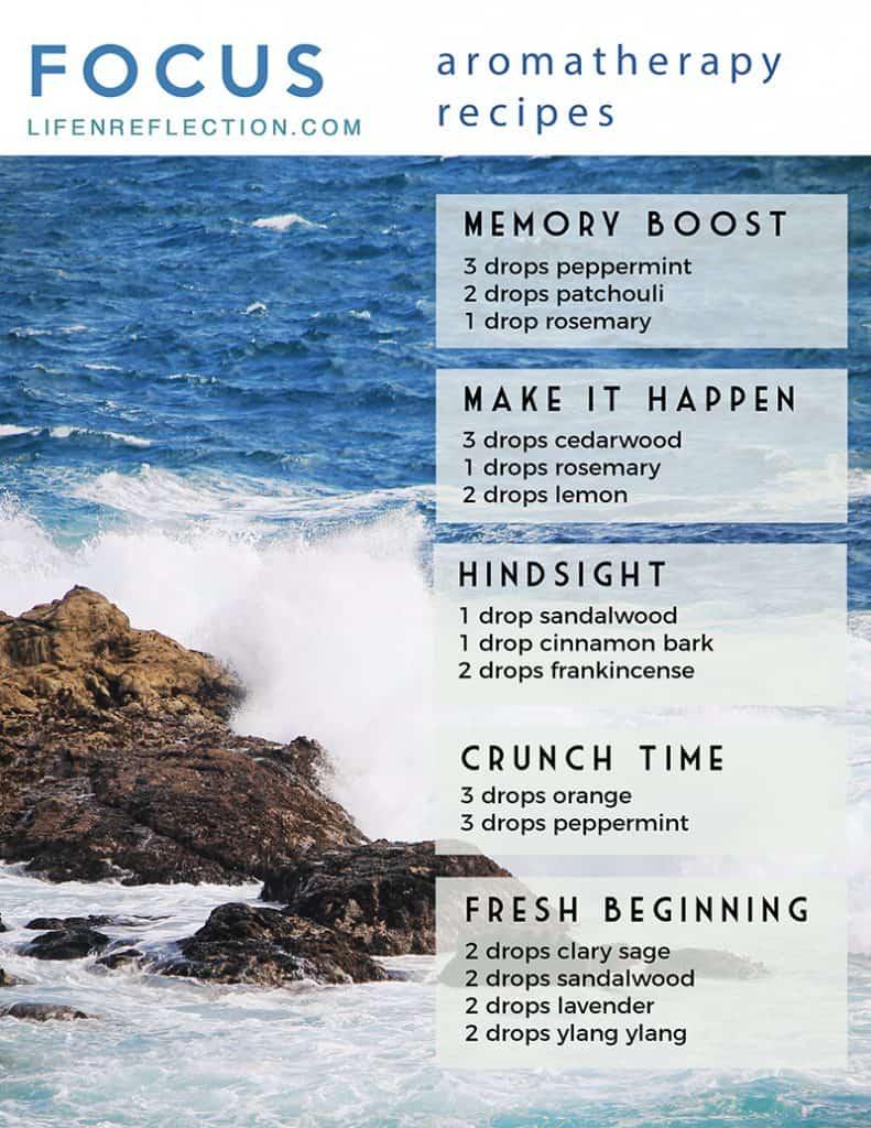 Focus Aromatherapy Recipes