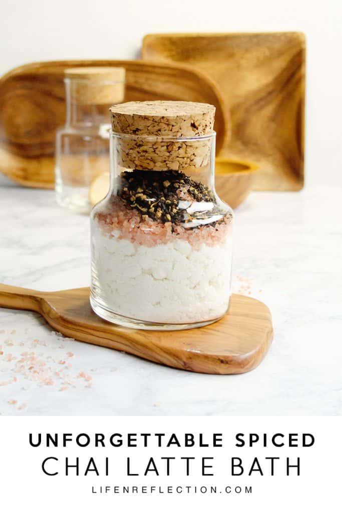 How to Make a Rich Spiced Chai Latte DIY Bath Soak
