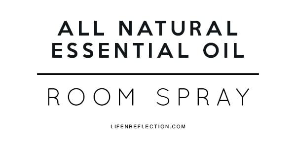 printable room spray label