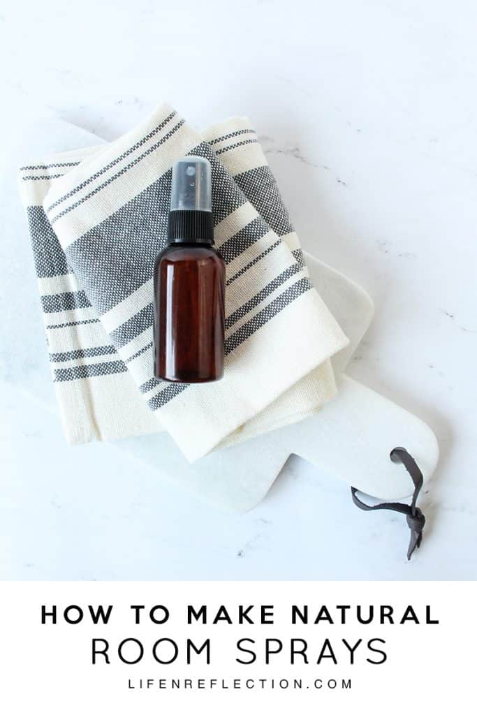 Why I'll Never Buy Another Room Spray / How to Create a Natural Essential Oil Room Spray