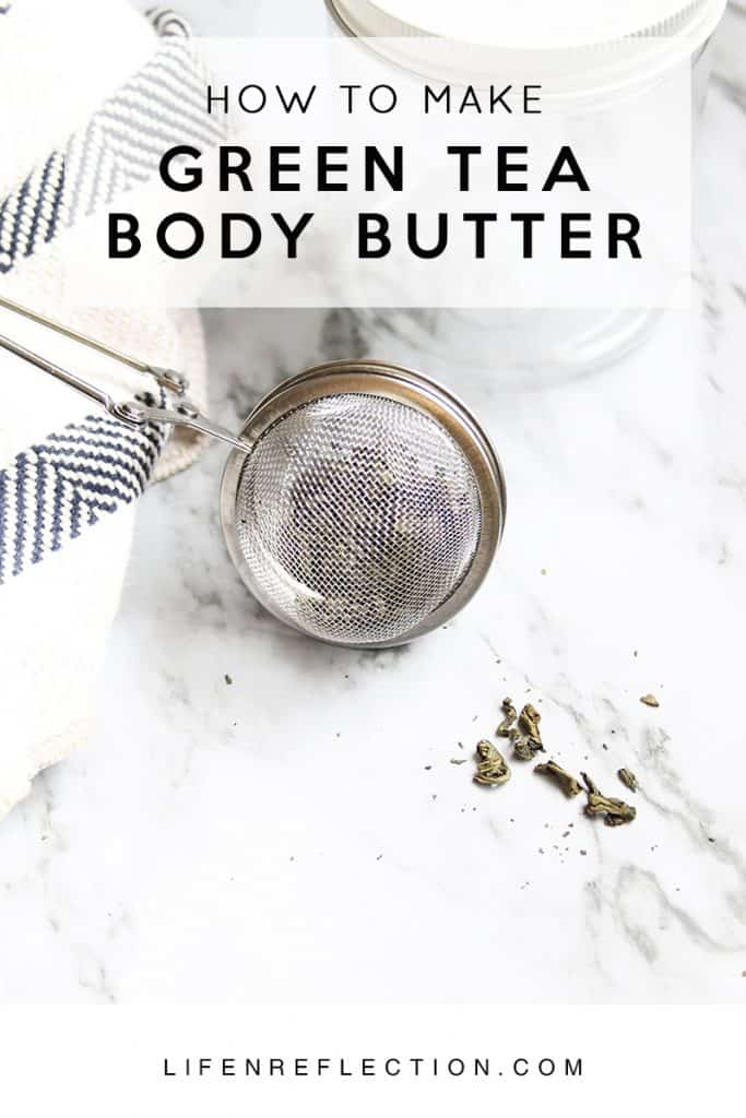 Unlock the benefits of green tea in an all natural body butter / How to Create Authentic Green Tea Body Butter