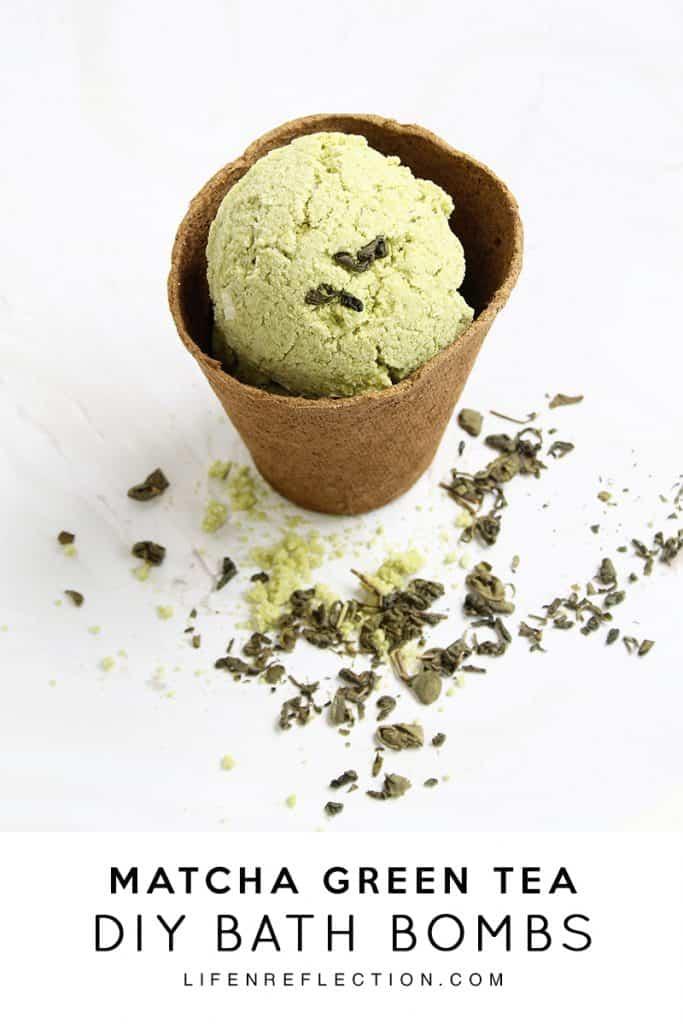 The Anatomy of a DIY Matcha Green Tea Bath Bomb