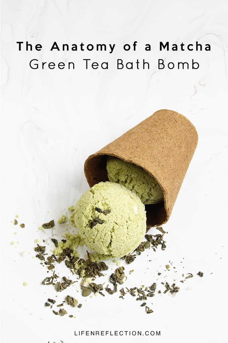 How to Make DIY Matcha Green Tea Bath Bombs