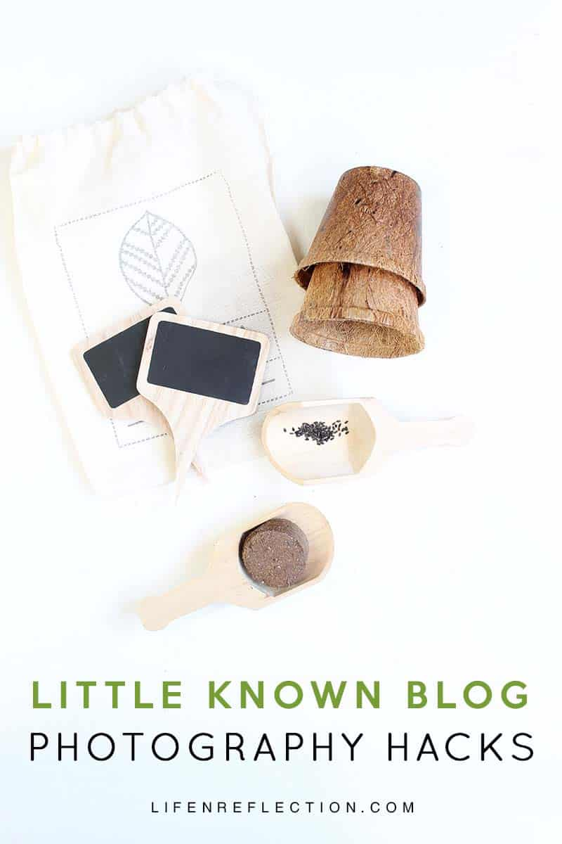 Are you new to blogging or just getting started with taking photos for your blog? Use todays' quick list of little known blog photography hacks to achieve big results without any equipment, other than your camera!