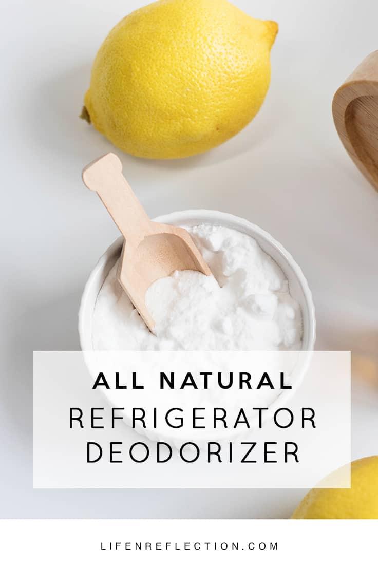 How to deodorize your fridge with lemon