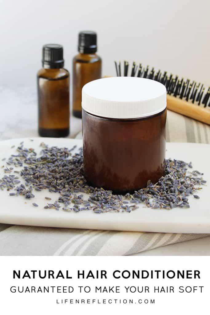 DIY natural hair conditioner guaranteed to make your hair soft and tangle free!