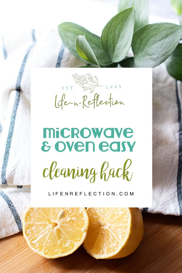 Naturally Clean the Microwave and Oven with these clever cleaning hacks!