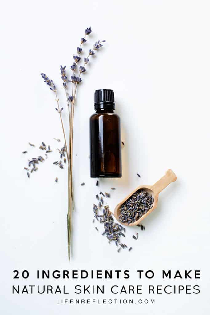 20 must have DIY Natural Skin Care Essentials for start making your own clean beauty products