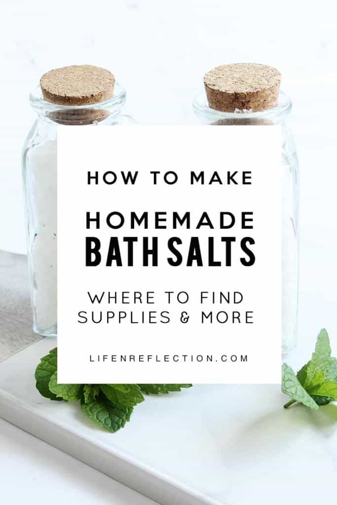 I've been making bath and body products for years and from my experience I can say, homemade bath salts are the easiest to make!