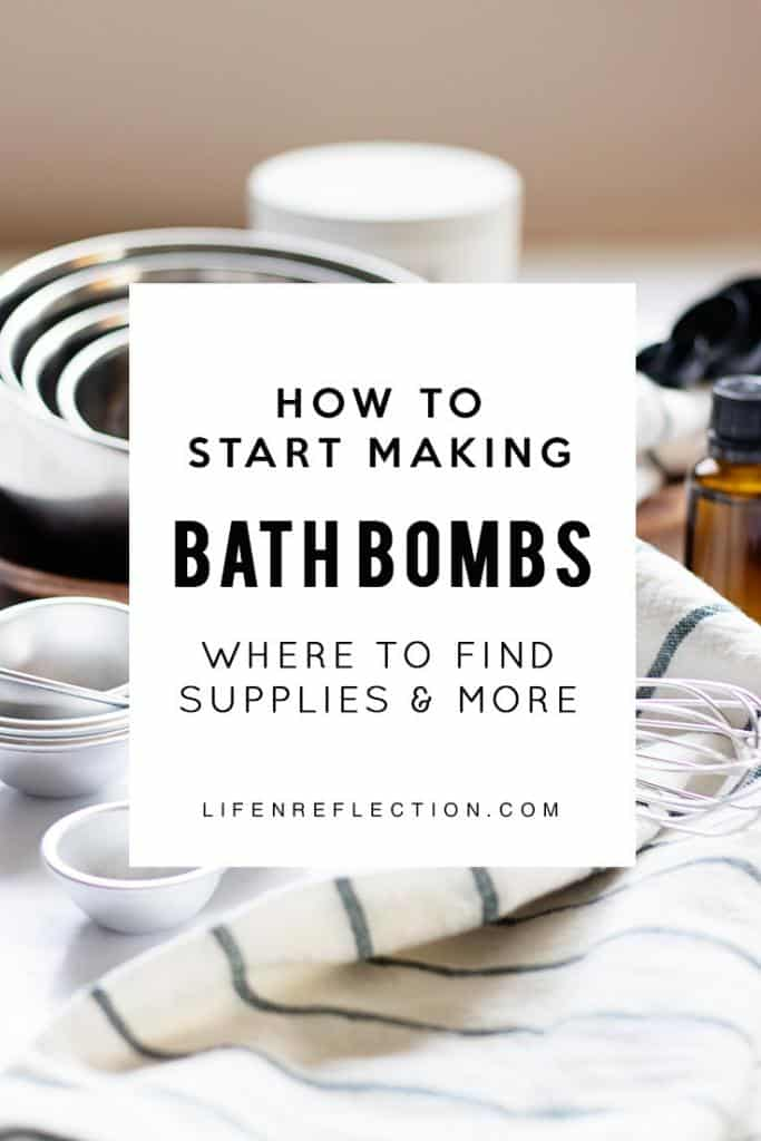 Check out these easy tips & tricks to start making bath bombs!