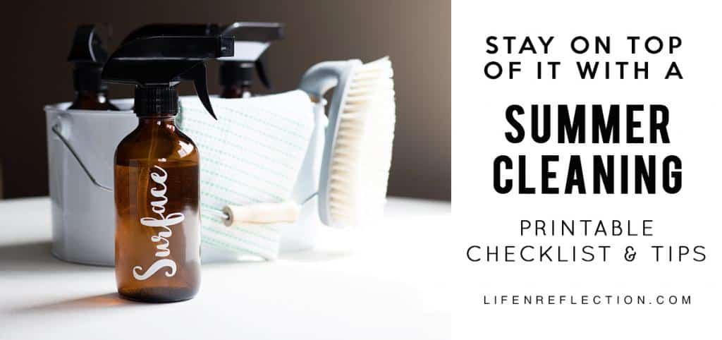 Making the Best of the Extra Daylight with a Handy Summer Cleaning Checklist