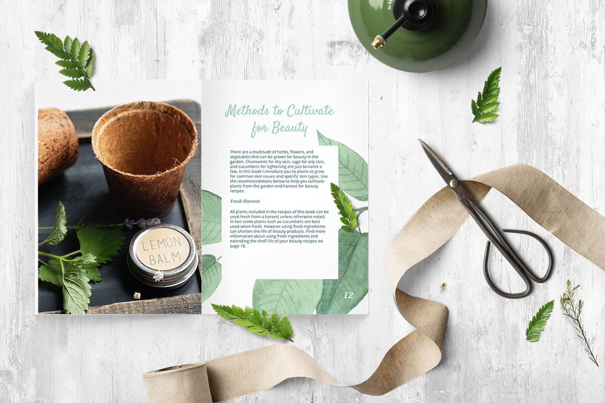 You can use recipes from Nourishing Nature to replace just about any skincare product you are currently using and more!