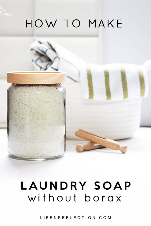 How to make DIY laundry detergent without borax