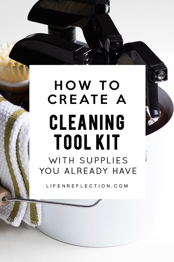 How to create an effortless home DIY cleaning kit with supplies you already have on hand!