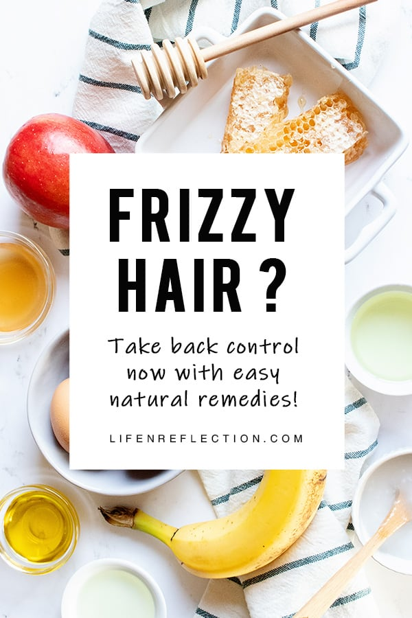 Uncover how to tame frizzy hair naturally with easy natural frizzy hair home remedies.