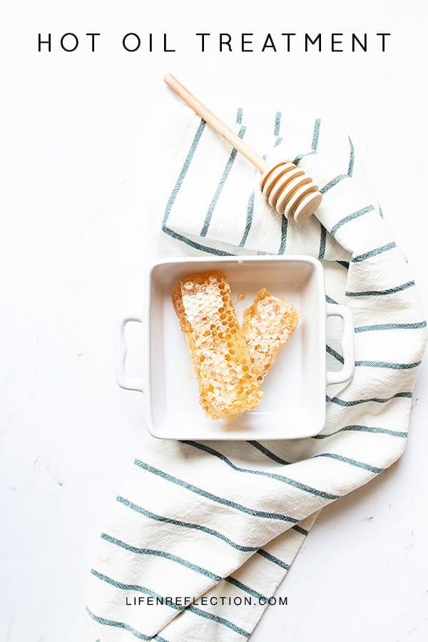 DIY Honey Coconut Hot Oil Treatment for Frizzy Hair
