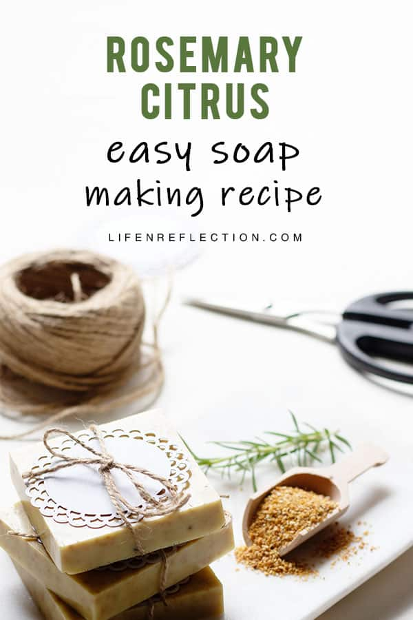 Melt and Pour Soap - The Easiest Way to Make Soap