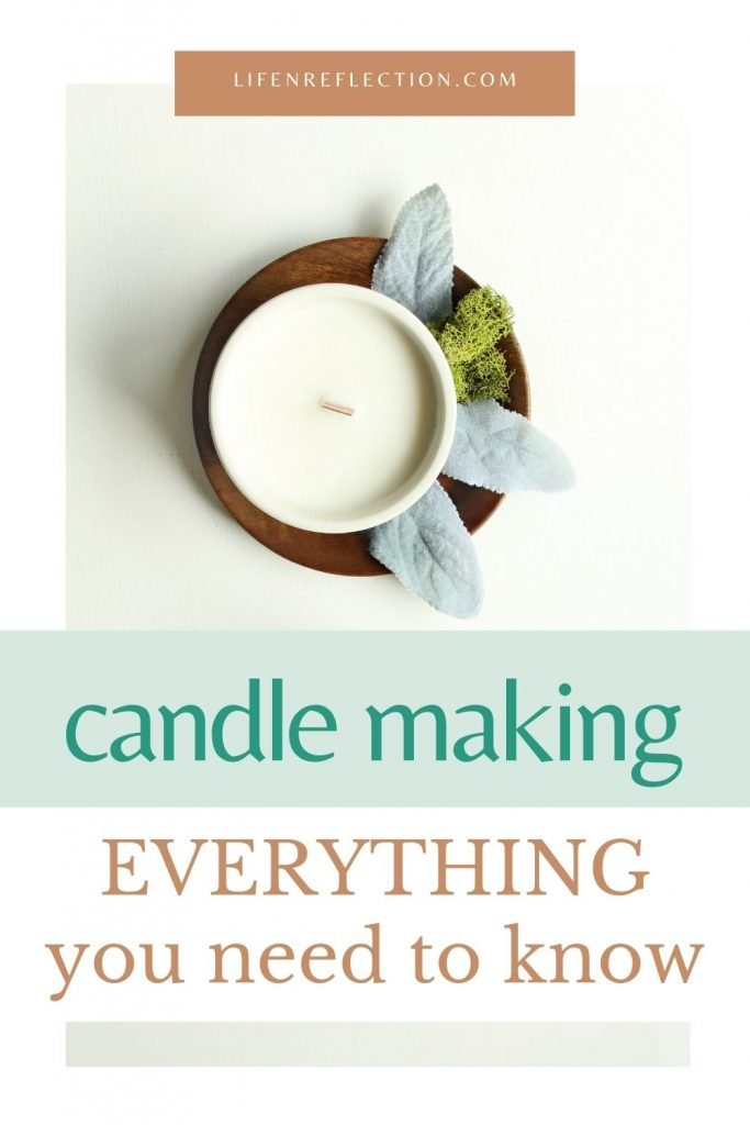 Soy Candle Making Made Easy with detailed need to know information spelled out for you.